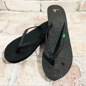 Sanuk Yoga Mat Wedge Sandal